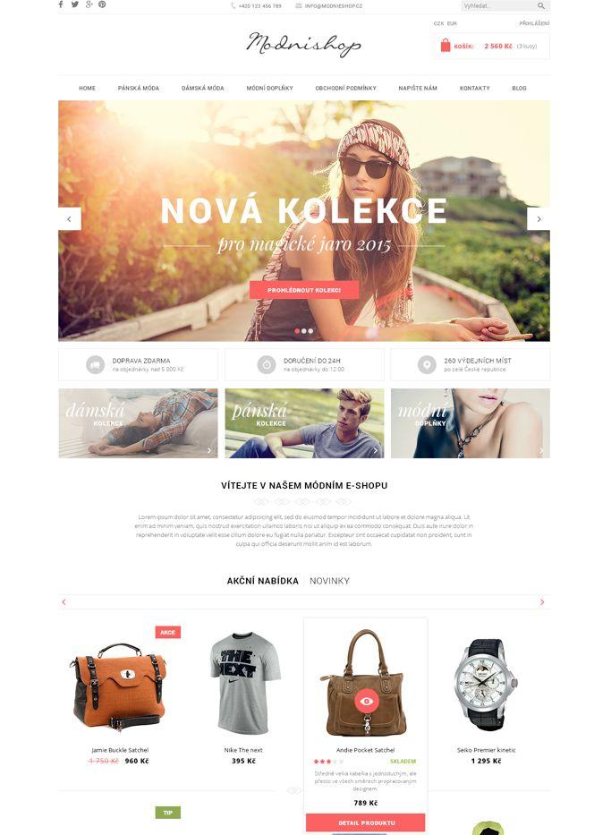 Šablona POP u vás měla úspěch http://blog.shoptet.cz/