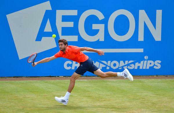 Gilles Simon Photos: Aegon Championships - Day Three