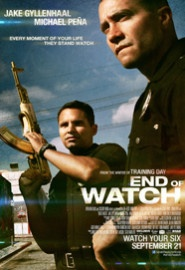 End Of Watch movie poster. Went to the show and watched this movie tonight, great movie!