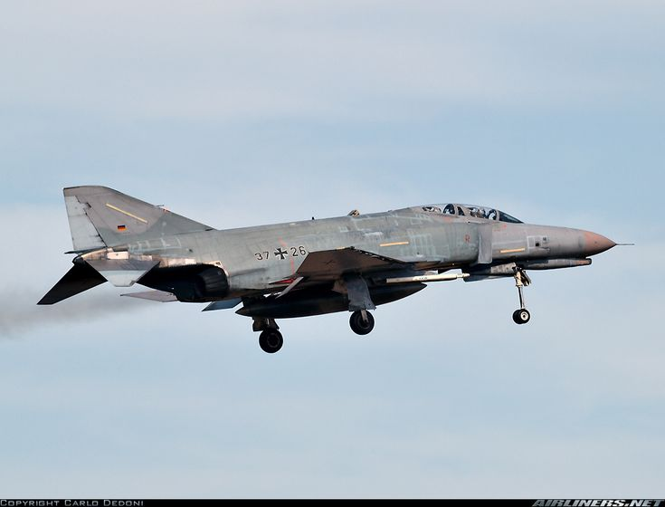McDonnell Douglas F-4F Phantom II - Germany - Air Force | Aviation Photo #1790732 | Airliners.net