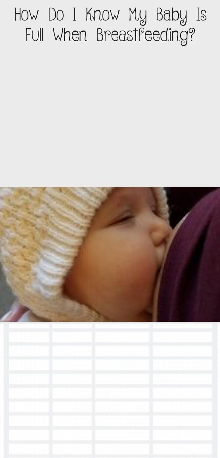How Do I Know My Baby Is Full When Breastfeeding - Baby -8046