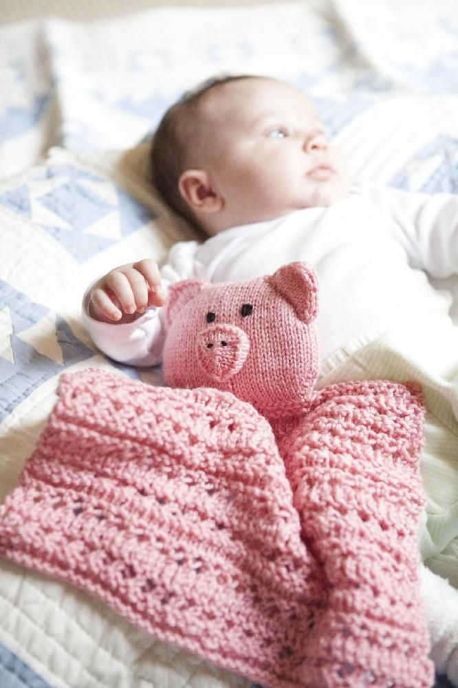 Easy Baby Knitting Patterns Free Download : Lacy Pig Buddy Knitting pattern by The Byrds Nest Knitting Patterns ...