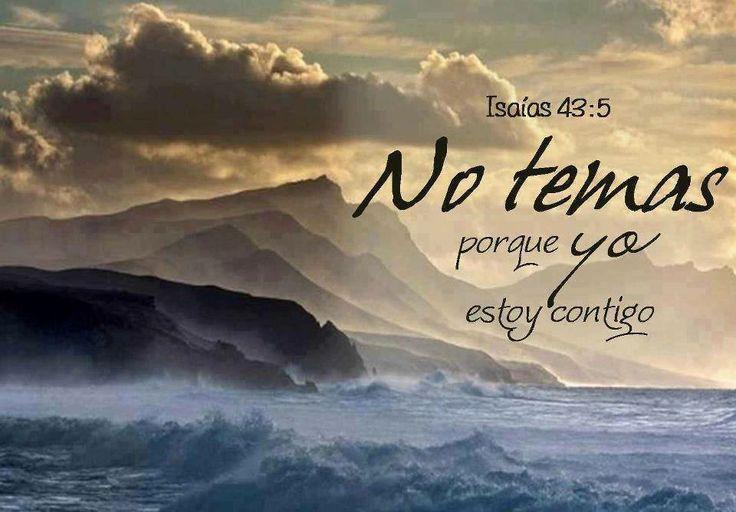 Isaías 43:5