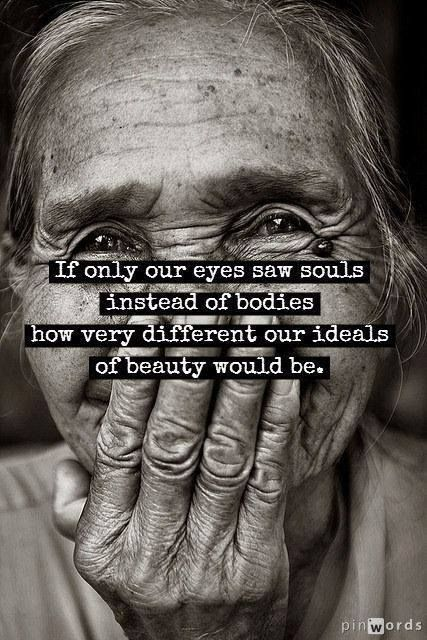 Beauty Is Only Skin It's What's Inside That Truly Matters