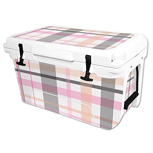 MightySkins Protective Vinyl Skin Decal Wrap for RTIC 45 qt Cooler cover sticker Plaid >>> You can find more details by visiting the image link.(This is an Amazon affiliate link)