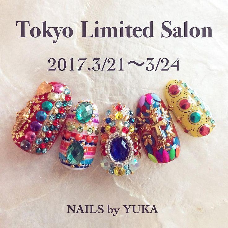 NAILS by YUKA @TOKYO 2017.3.21(tue)-24(fri) ------------------------------------- ✭時間応相談 * ✭お任せネイル(約2h) ¥14,500 ※ジェルオフがある場合は+1500円 時間は30分要します。 ※税込価格です。 * * *キャンセルは基本受け付けておりませんので予めご了承下さいませ。 * 場所は青山1丁目駅から徒歩1分になります。 * ご予約、お問い合わせなどは下記のメール or ラインにお願い致します。 * MAIL nailsbyyuka.com@gmail.com LINEnailsbyyuka * ※ドメイン指定をされてる方は上記アドレスを受信可能にして下さい。 * 1,ご氏名 2,お電話番号 3,ジェルオフ・長さ出しがある場合はお申し付け下さい。(別途料金がかかります。) 4,ご希望日時を2候補教えて下さい。 * * 皆様からのご予約をお待ちしています♡ * #nailsbyyuka #nails#nailart#gelnail#bijou#nailstagram #...