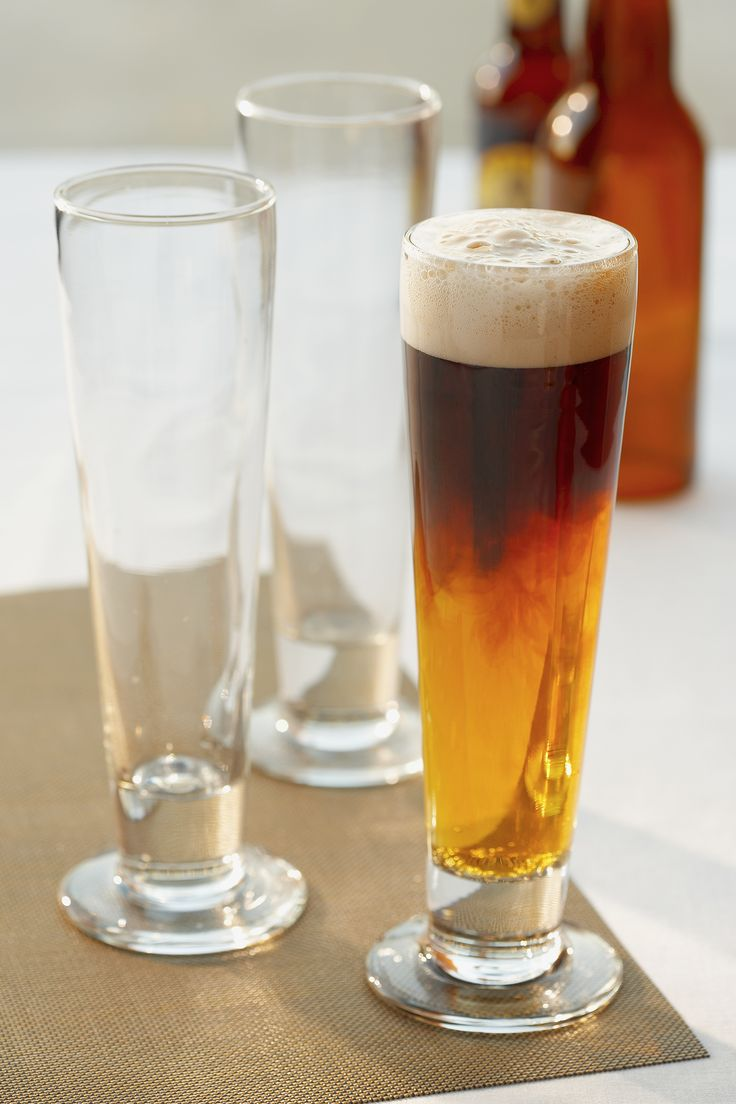 how to make a black and tan drink