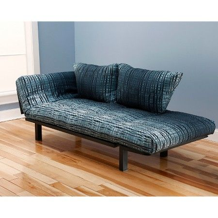 Spacely Black Metal Futon Lounger - Christopher Knight Home : Target