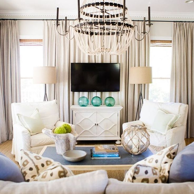 Grayton Beach Living Room Ashleygilbreathinteriordesign