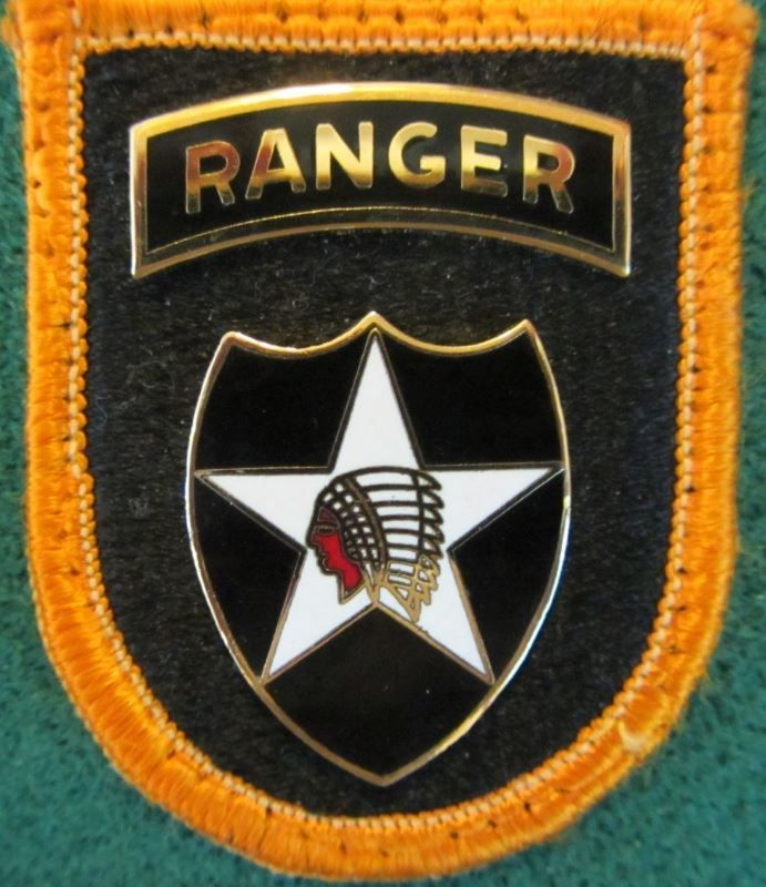 Small patch lot with Ranger Star Indian beret patch Military NRA