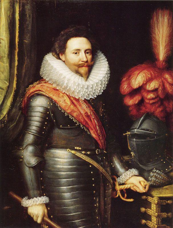 Michiel Jansz. van Mierevelt, c. 1610 - - - Frederick Hendrick, Prince of Orange-Nassau