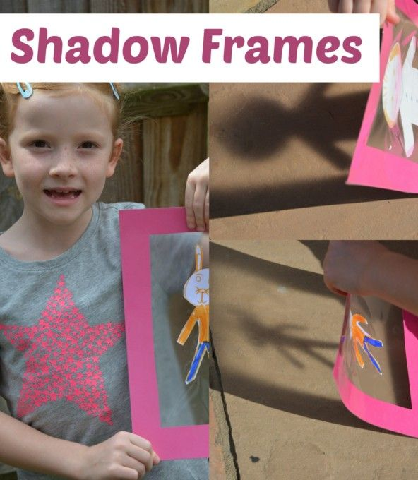 Learn about shadows with these easy shadow frames
