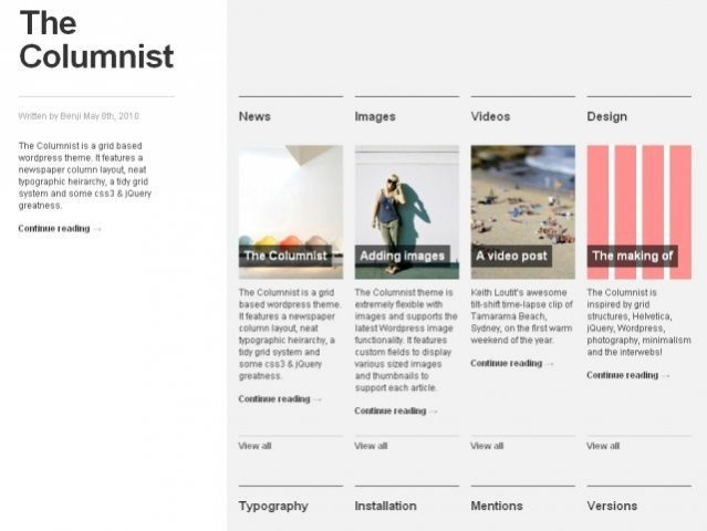 Mejores 26 imágenes de Free Wordpress Themes (Awesome) en Pinterest ...