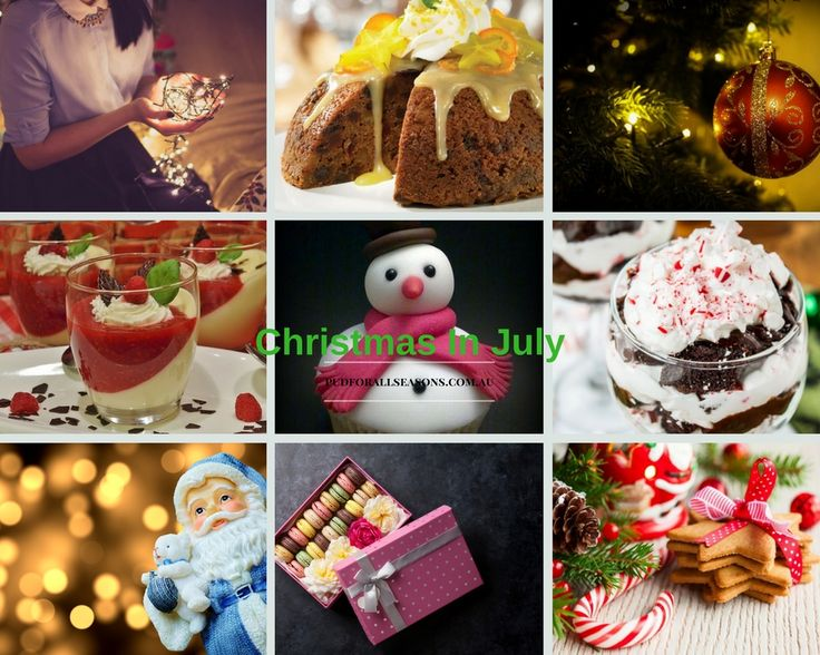 Enjoy this Christmas in July with our delicious puddings.