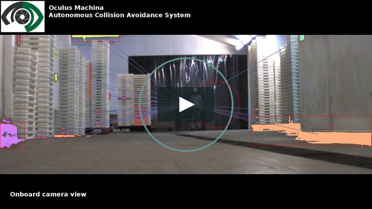 ACAS module (Autonomous Collision Avoidance System). The preliminary results in a closed environment (warehouse) The video has two parts, the first one is a test…