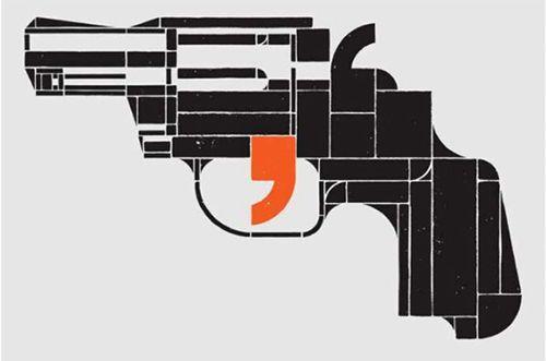 comma by Stefan Sagmeister