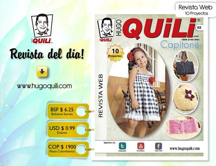 Revista Web Capitoné NO. 02 Encuentrala en nuestra pagina web.