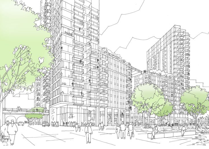 Legacy Buildings - Embassy Gardens Phase II by HAL Architects with Arup Associates