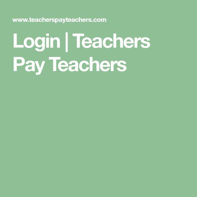 Login | Teachers Pay Teachers