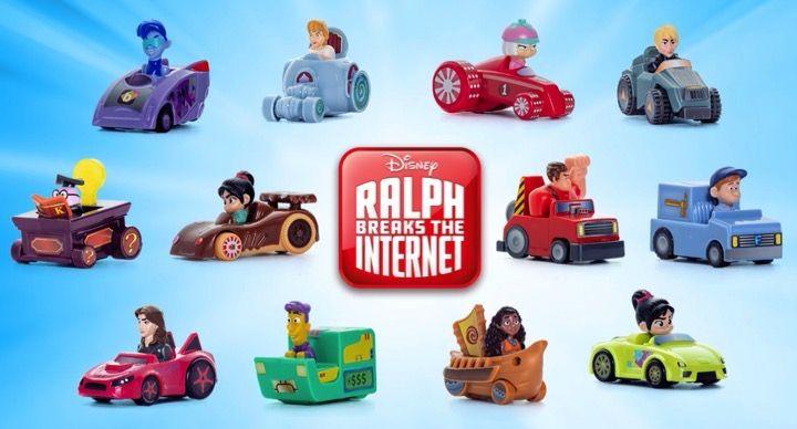 Disney Ralph Breaks The Internet Happy Meals At Mcdonalds