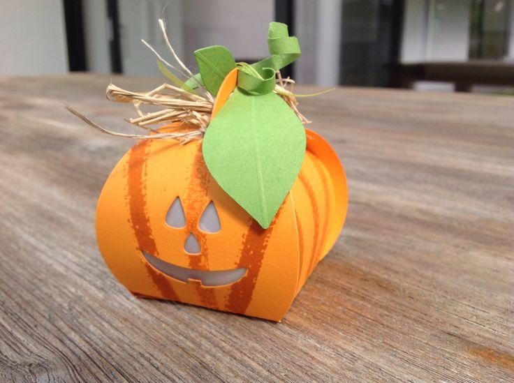 Stampin'Up Herbst/Winter 2014, SU Zierschachtel, Kürbis, Halloween, Box, Papierschachtel, Curvy Keepsake Box Thinlits Dies,