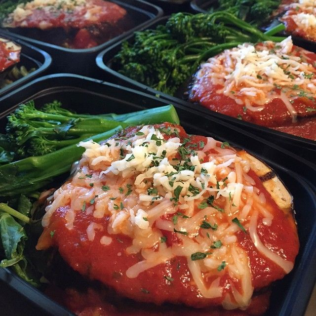 Grilled Eggplant Parmesan action today.....pretty good 🔪🇺🇸💪#mealprepking…