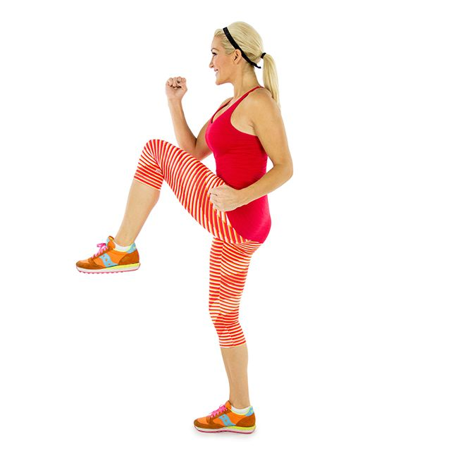 Mastering High-Knees from @skinnymom
