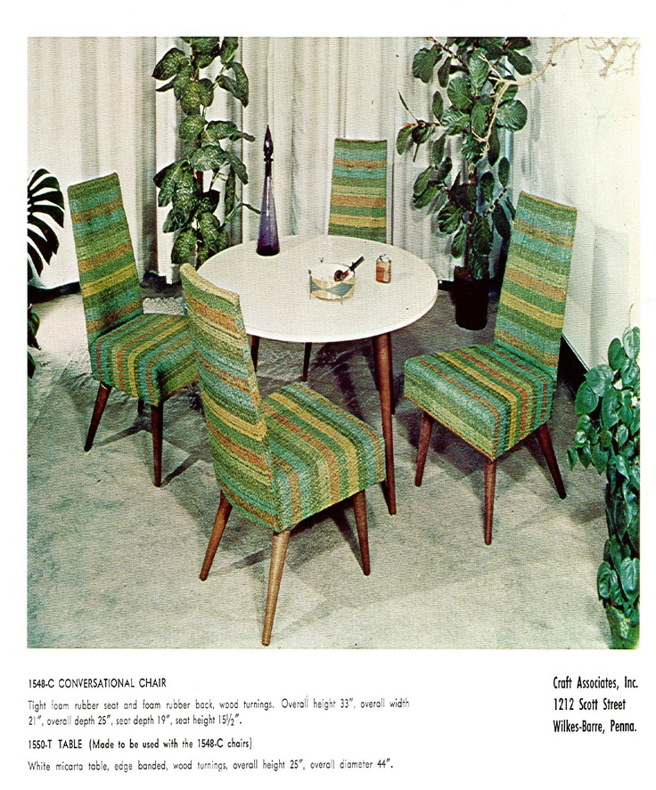 Adrian Pearsall craft associates catalog  IT LOOKS JUST LIKE MY DINING ROOM. 112 best Mid Century Furniture images on Pinterest   Mid century