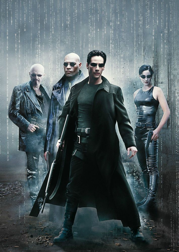 Image result for the matrix movie poster free use