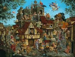 """""""Rhymes and Reasons""""...James C. Christensen"""