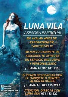 Luna Vila, vidente, medium y tarotista: HOY ES MIÉRCOLES, Y VÍSPERA DE FIESTA, EN ALICANTE...