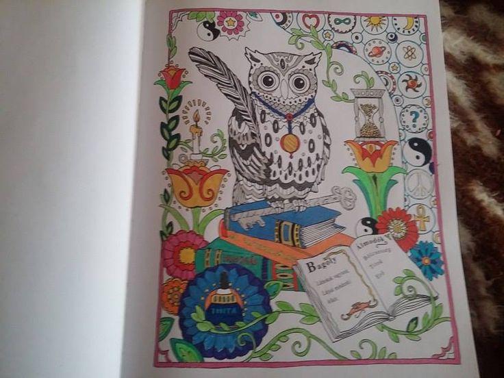 Kaptuk! #Partvonalkiadó #coloringbook #felnőttszínező #Baglyok #Adrikönyvmoly