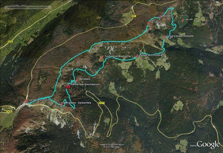 col de la schlucht | Randonnée - Col de la Schlucht - Tanet - Lac vert - Hirschsteine ...