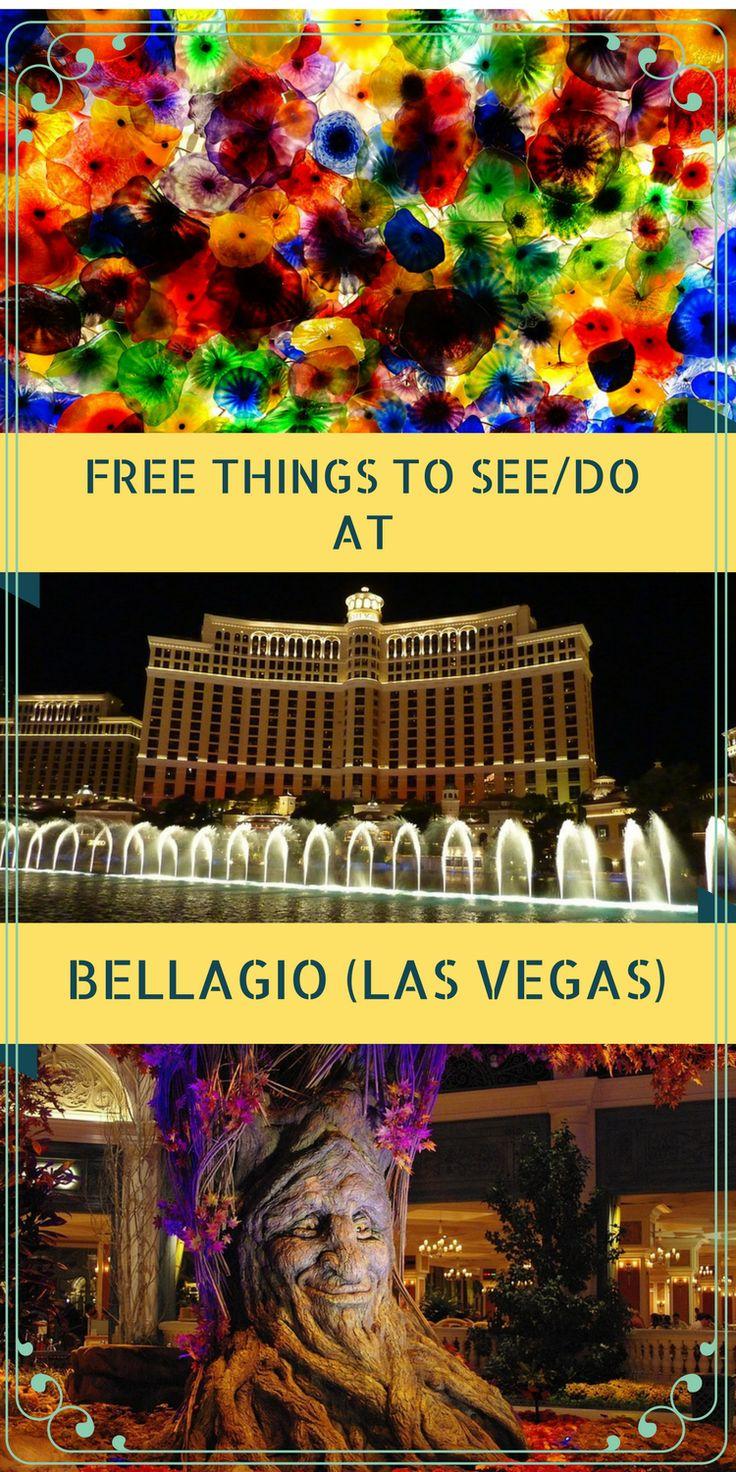 Free Things to see/do in Bellagio- Las Vegas