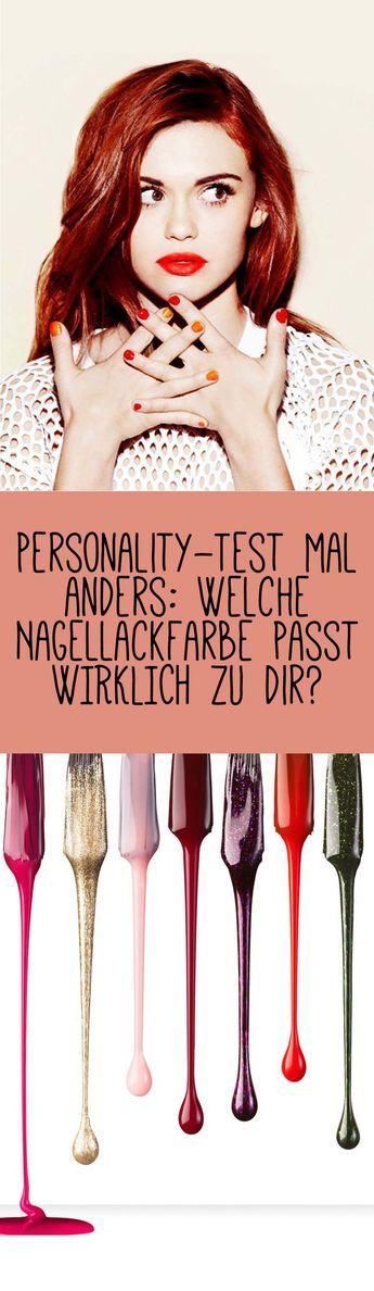 Bist du der sexy 'Tankini-Erdbeer-Rot'-Typ oder doch eher die süße 'Zucker-Cookie-Pink'-Lady? Mach jetzt den Test und finde es heraus!  Jetzt auf gofeminin.de!  #gofeminin #beauty #nailart #nail # test