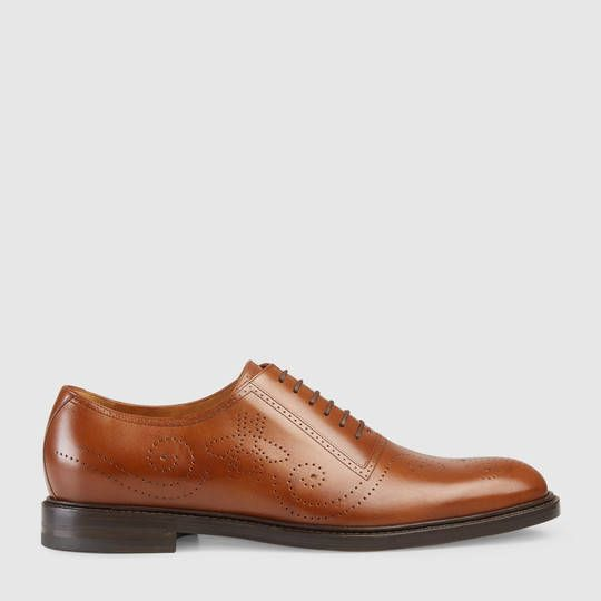 Gucci Drury Patent Leather Dress Shoe