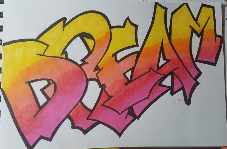 how to draw graffiti style letters for beginners in 2020