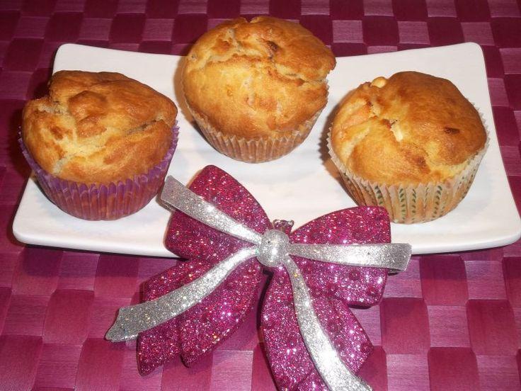 Muffin con Salmone e Feta