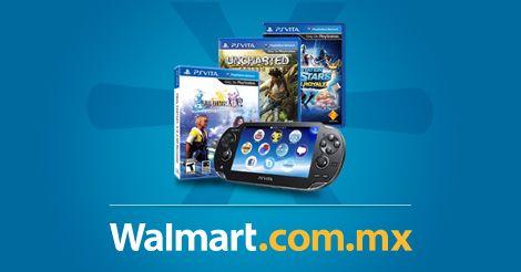 Encuentra tu paquete favorito de consola PS Vita con juegos y accesorios sólo por Internet. El envío es gratis a todo México.  Walmart.com.mx, Hacemos Clic!