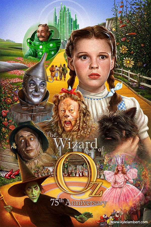 The Wizard Of Oz by Kyle Lambert [©2017]