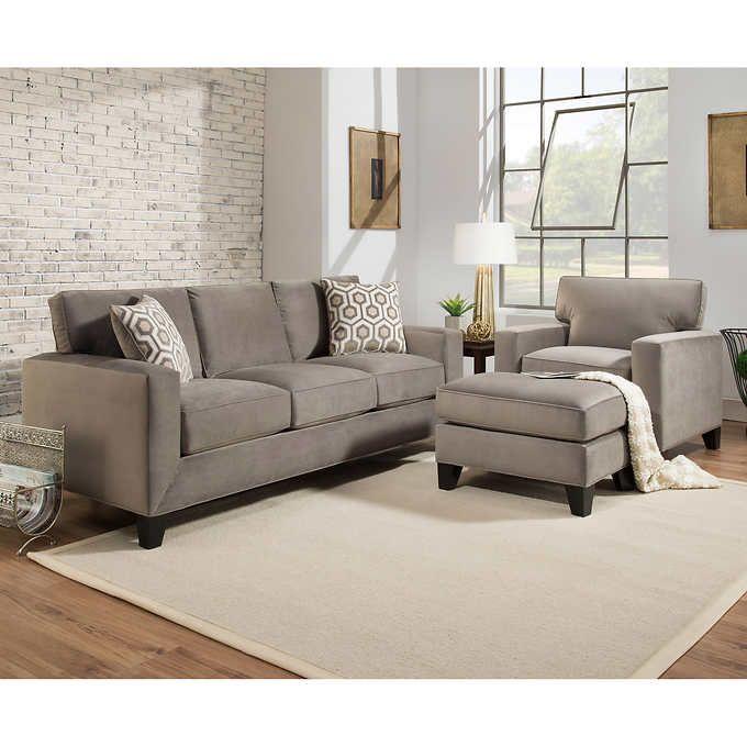 Rayhill 3 Piece Fabric Set 2 399 99 Sofa Set Designs Condo