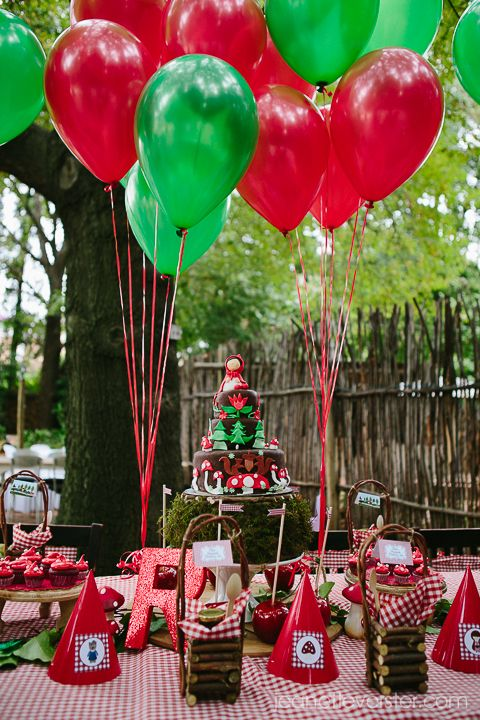 A Red Riding Hood birthday party for Rhea | Jeanette Verster Photography - Wedding and Lifestyle Photographer Johannesburg