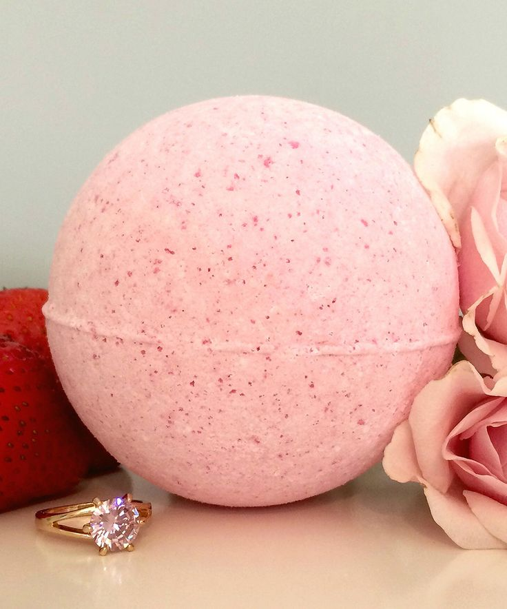 Love this Strawberries & Champagne Ring Bath Bomb by Pearl Bath Bombs on #zulily! #zulilyfinds