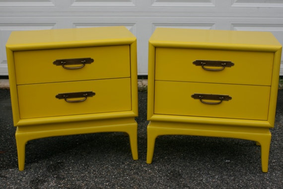 Painted Furniture Mid Century Dresser Painted by Transformations2, $595.00