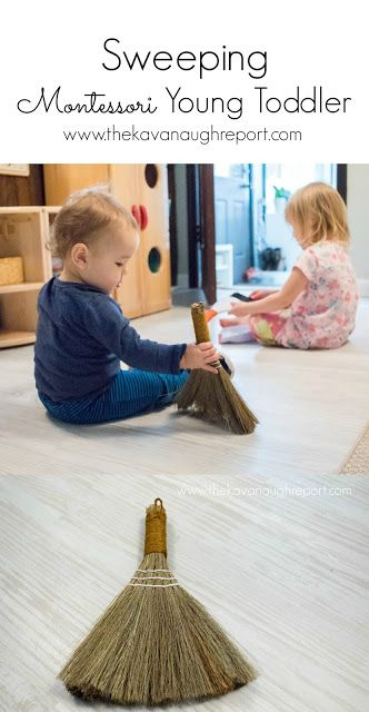 ca028b78e84f Sweeping -- Montessori Young Toddler Week 3