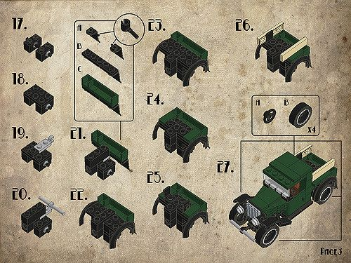 Instructions of my 1931 Ford Model A Pickup.  Enjoy! :D