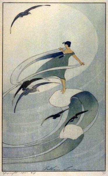 Wind Sprite  by Bertha Lum, 1920