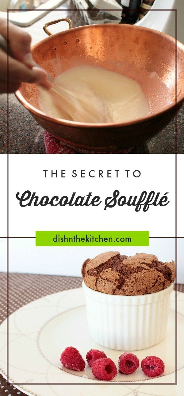 Chocolate Soufflé – Dish 'n' the Kitchen
