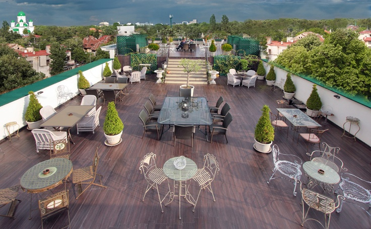 Rooftop Restaurant Bucharest Romania Terasa Astrodom