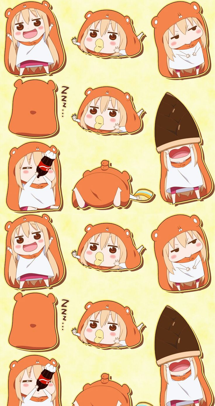Beatles Iphone Wallpaper Free Umaru Chan Never Actually Seen The Show Except Clips